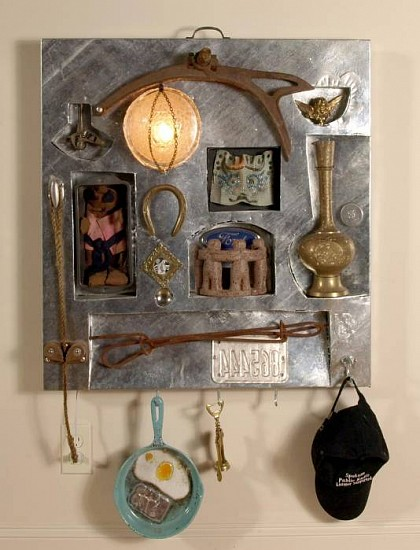 Harold Balazs, A Case of Curiosities 2007, mixed media