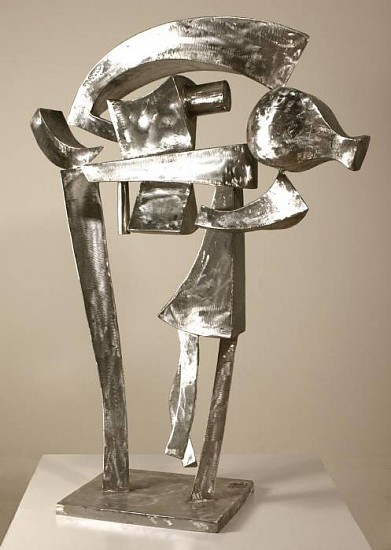 Harold Balazs, Achilles Hatrack 2008, stainless steel