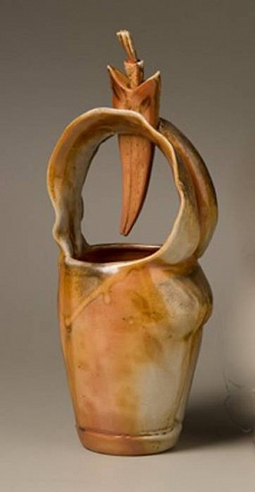 Gina Freuen, Basket Figure with Aromatherapy 2010, porcelain blend, wood fired