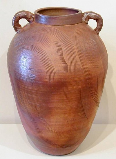 Terry Gieber, Wood-Fired Jar, I 2005, stoneware