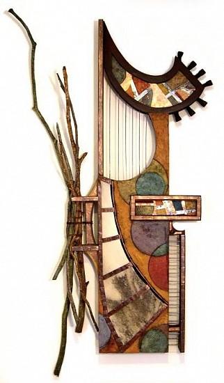 Michael Horswill, Jazz 2006, mixed media