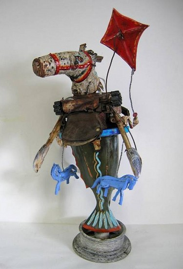 Kay O'Rourke, Sea Horse Flying Kite mixed media