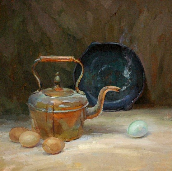 Kyle Paliotto, Bad Egg 2013, oil on linen