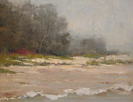 Don Ealy, Beach oil on panel