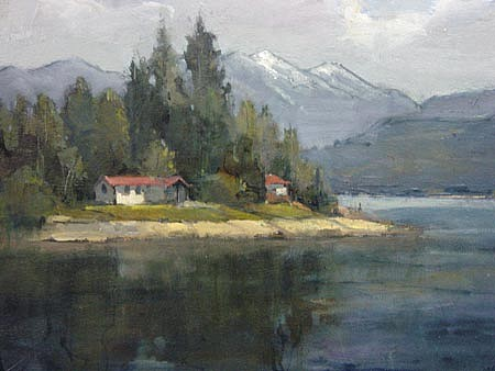 Don Ealy, Kootenai Lake, British Columbia oil