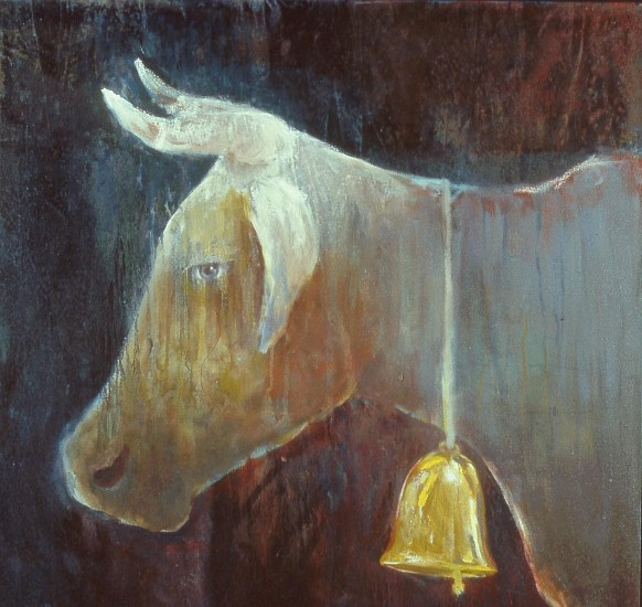 Mel McCuddin, The Golden Bell oil on canvas
