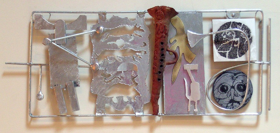Harold Balazs, Down Through the Ages 2005, mixed media