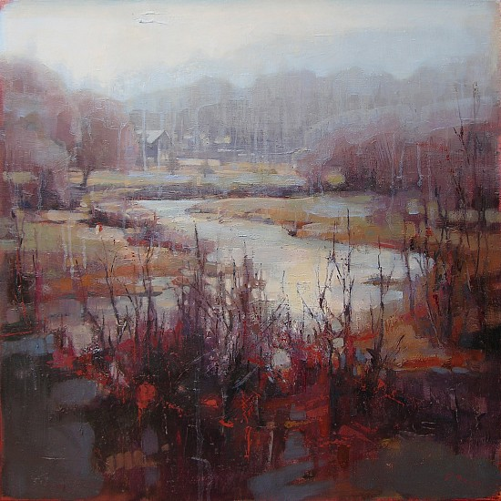 Victoria Brace, Almost Winter 2014, oil on canvas
