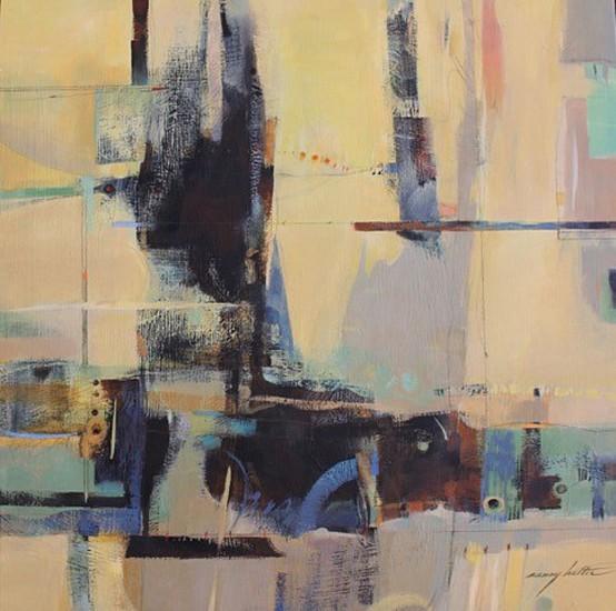 Nancy Halter, Seminal Particulates 2015, acrylic on panel