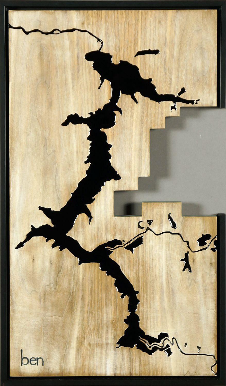 Ben Joyce | Coeur d\'-Alene - White | 2015 | The Art Spirit Gallery